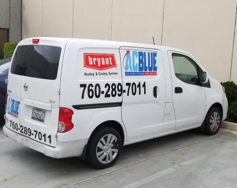 AC Blue Van